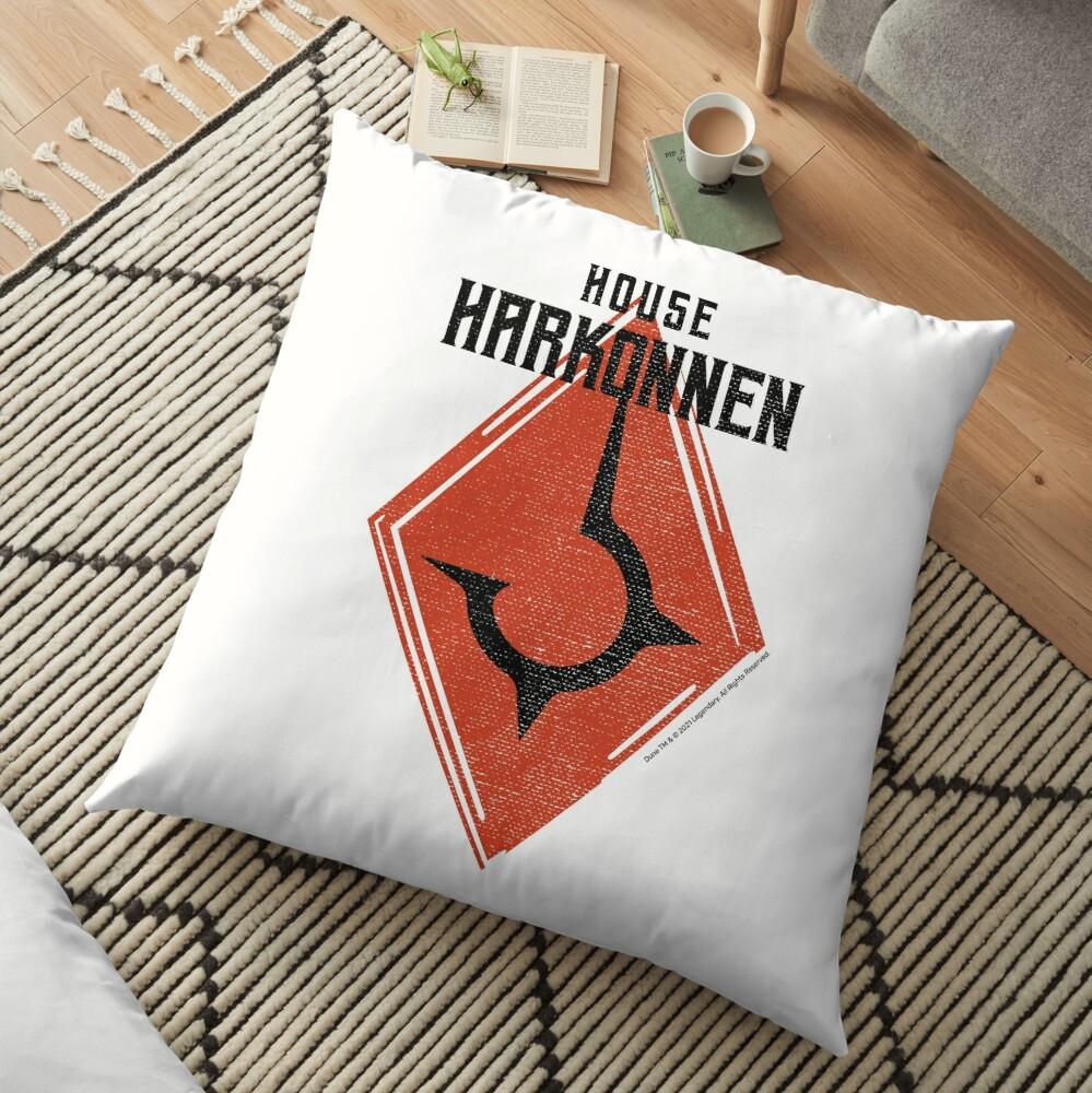 House Harkonnen Floor Pillow