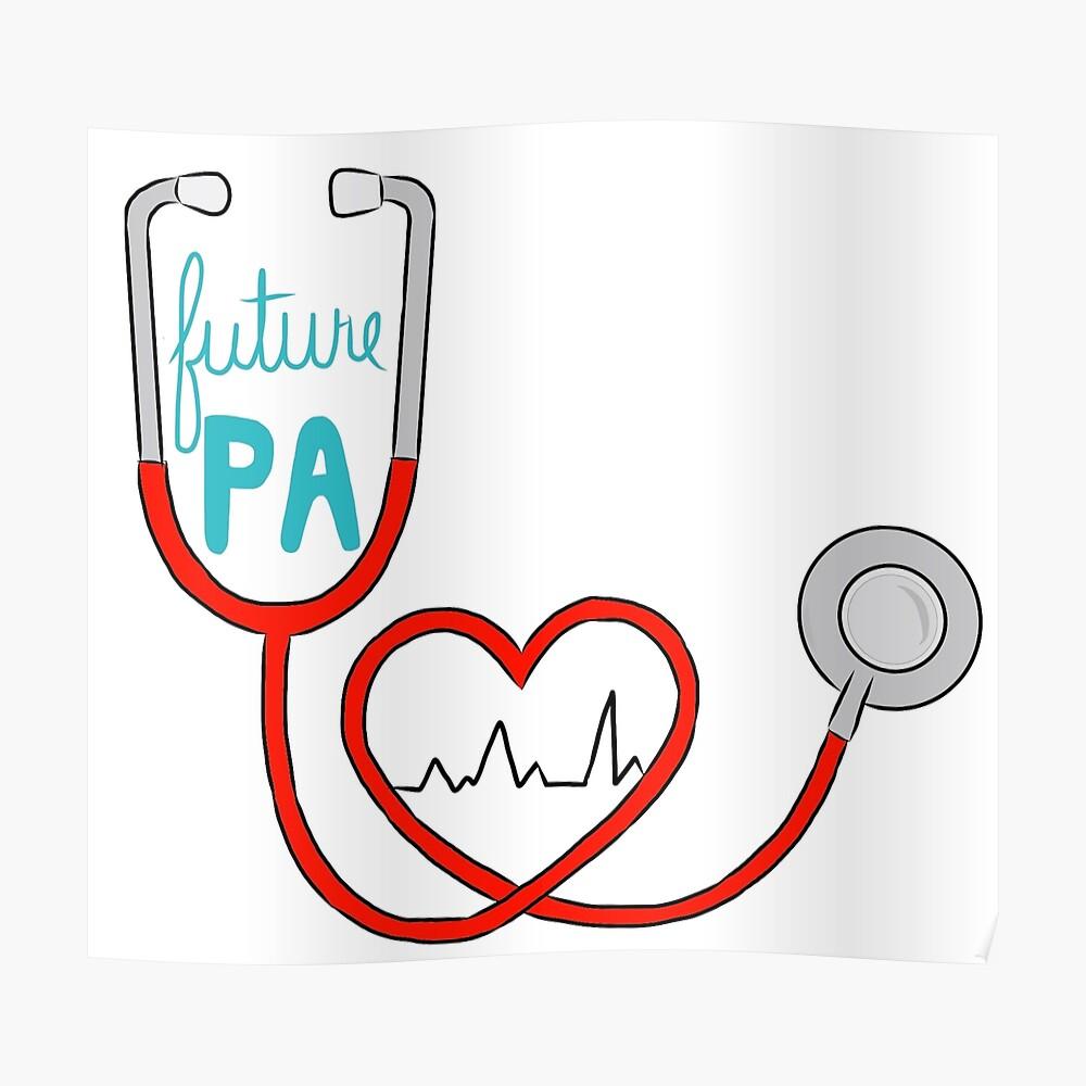Future PA (Asistente médico) Póster
