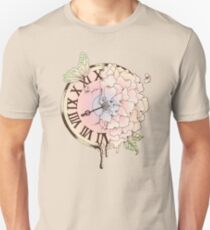 Il y a Beauté dans le Temps (There is Beauty in Time) Unisex T-Shirt