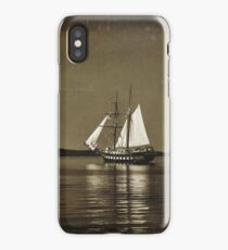Tall ships - textured iPhone Case/Skin