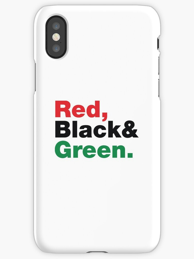 Red, Black & Green. by forgottentongue
