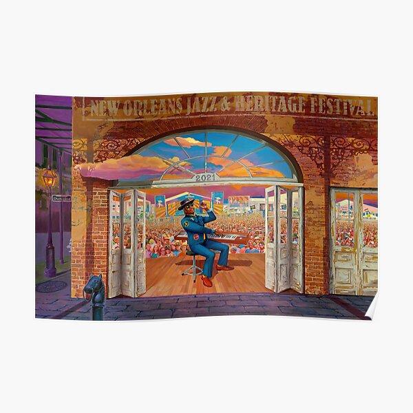2021 Jazz Fest Poster
