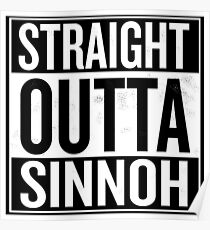 Straight Outta Sinnoh Poster