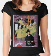 Performing Arts Posters Will F Phillips complicated farcical extravaganza A bell boy 1965 Women's Fitted Scoop T-Shirt