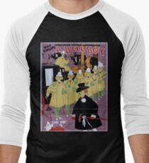 Performing Arts Posters Will F Phillips complicated farcical extravaganza A bell boy 1965 Men's Baseball ¾ T-Shirt