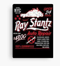 Ray Stantz Auto Repair Canvas Print