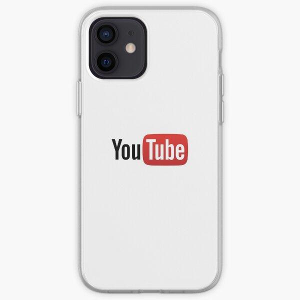 Logo Youtube Coque souple iPhone