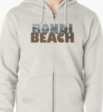 Bondi Beach Zipped Hoodie