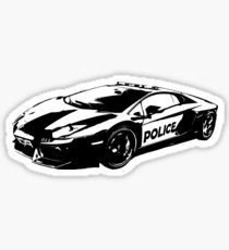 Police 01 Sticker