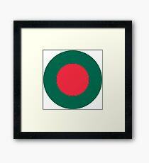 Roundel of Bangladesh Air Force  Framed Print