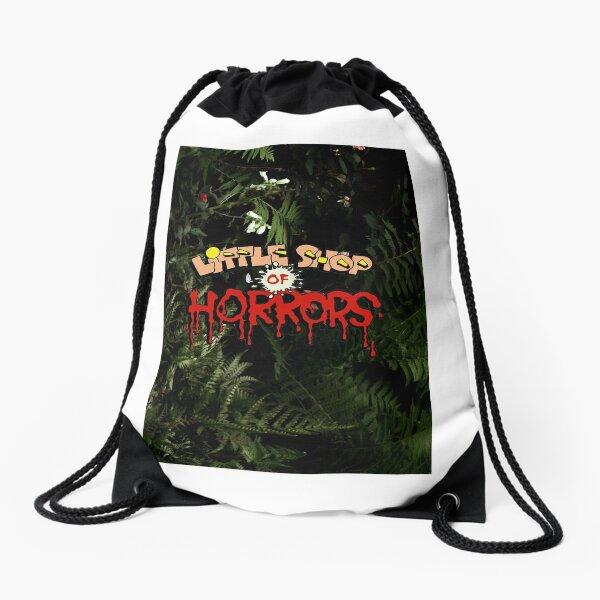 Green plant -The Little horrors anime Drawstring Bag