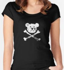 Pirate Teddy Women's Fitted Scoop T-Shirt