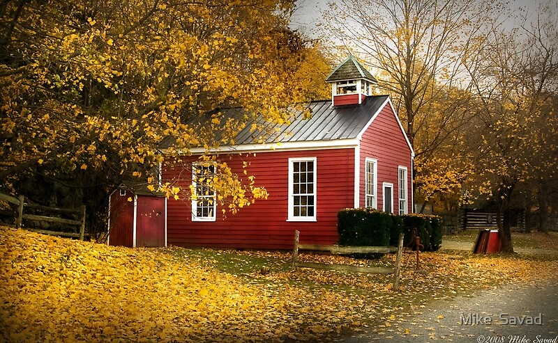 Quot The Old School House Quot By Michael Savad Redbubble