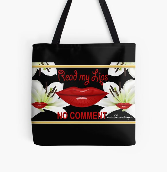 My Lips Collection Allover-Print Tote Bag