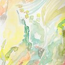 Colorful Abstract Watercolor by Lindsay Layton