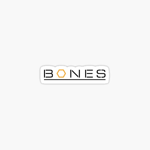Bones Logo Sticker