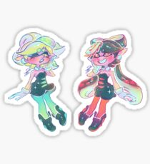 Small Sisters Sticker