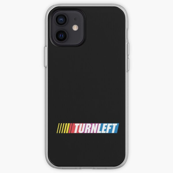 oval: TURN LEFT iPhone Soft Case