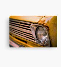 70s Vintage Rusty Car Canvas Print