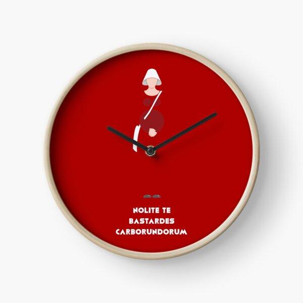 Nolite te bastardes carborundorum Clock
