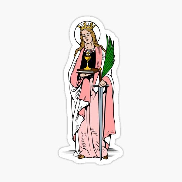ST. BARBARA Sticker