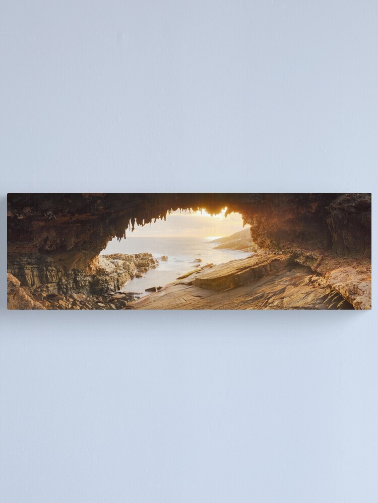 Alternate view of Admirals Arch, Kangaroo Island, South Australia Canvas Print