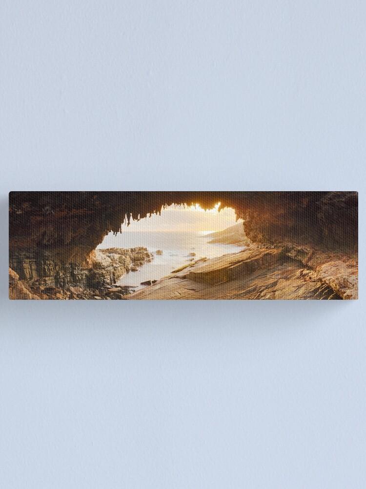 Alternate view of Admirals Arch, Kangaroo Island, South Australia Canvas Print