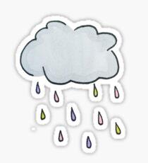 raindrop Sticker