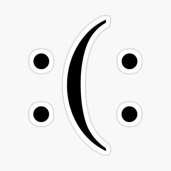 Bi Polar Smile Sticker