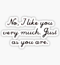 Just as you are Sticker