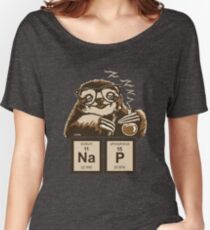 Chemistry sloth discovered nap Women's Relaxed Fit T-Shirt