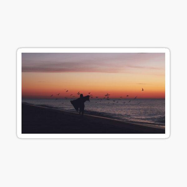 Beach Sunrises iii Sticker