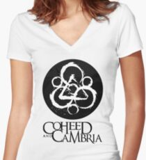 Coheed Cambria Band Women's Fitted V-Neck T-Shirt