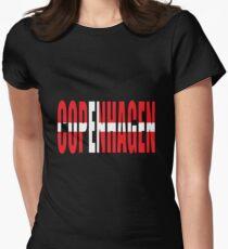 Copenhagen. Women's Fitted T-Shirt
