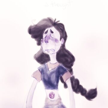 Here comes a thought - Stevonnie in Mindful Education by BellaExclames