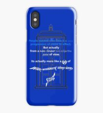 Wibbly-Wobberly Timey-Wimey iPhone Case/Skin