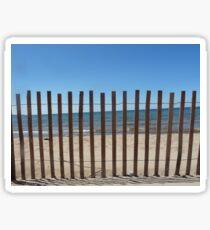 Beach Fence Sticker
