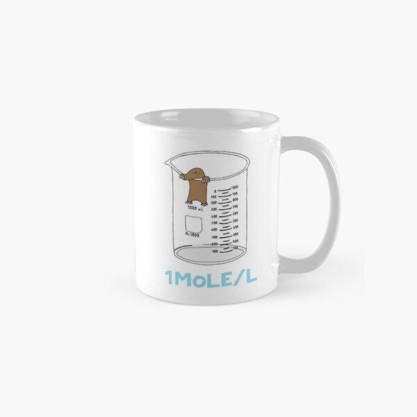Chemistry 1 Mole per Litre for Mole or Avogadro's Day  Classic Mug