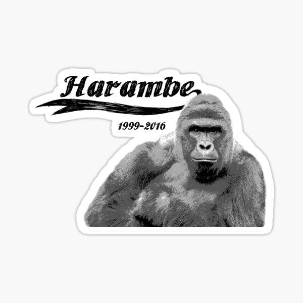RIP Harambe Sticker