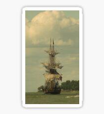 Tall Ship Sticker