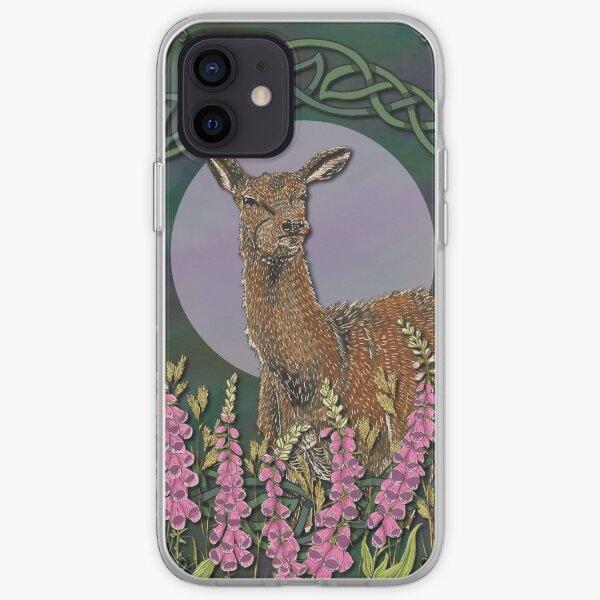 Celtic Deer iPhone Soft Case