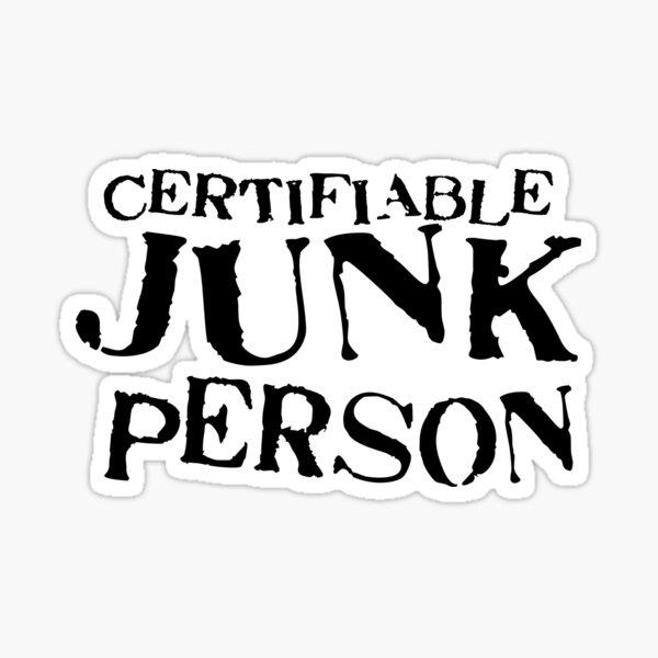 Junk Person Sticker