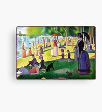 Sunday Afternoon On The Island Of La Grande Jatte Canvas Print