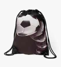 Play Soccer! Drawstring Bag