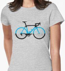Bike Team Sky (Big) Women's Fitted T-Shirt