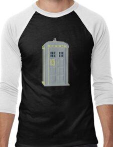 MY MASTERS TARDIS 1 Men's Baseball ¾ T-Shirt