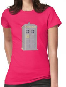 MY MASTERS TARDIS 1 Womens Fitted T-Shirt