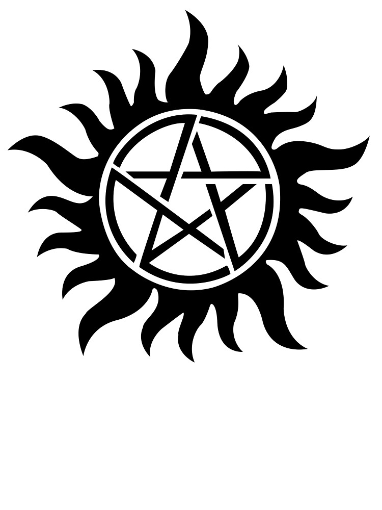 Supernatural Inspired Anti Possession Symbol Tattoo By