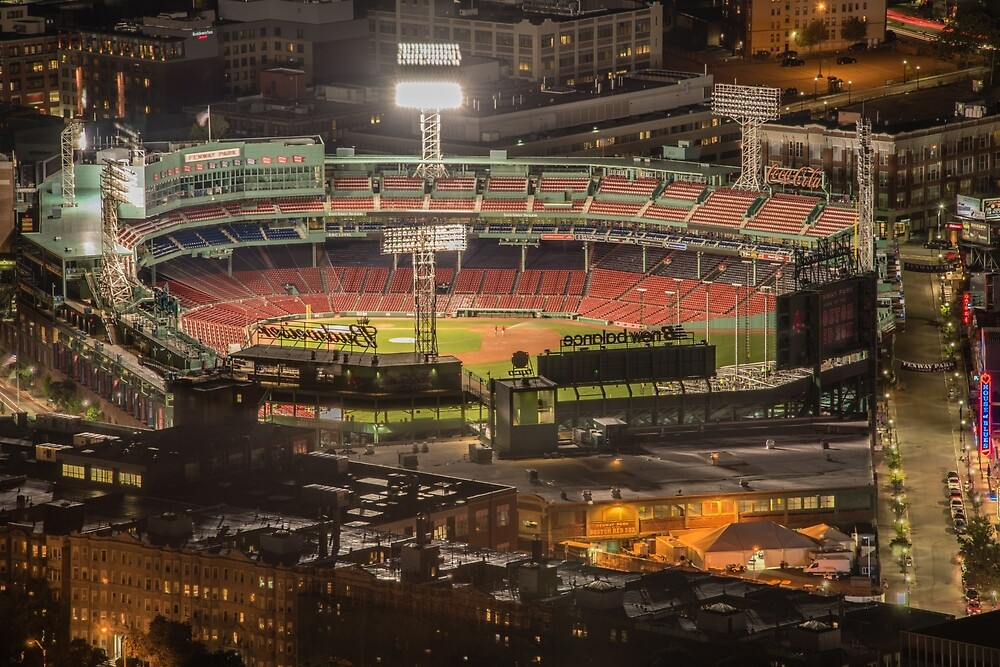 Fenway Park before game, Boston. by mattmacpherson