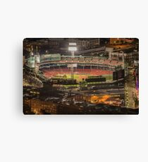 Fenway Park before game, Boston. Canvas Print